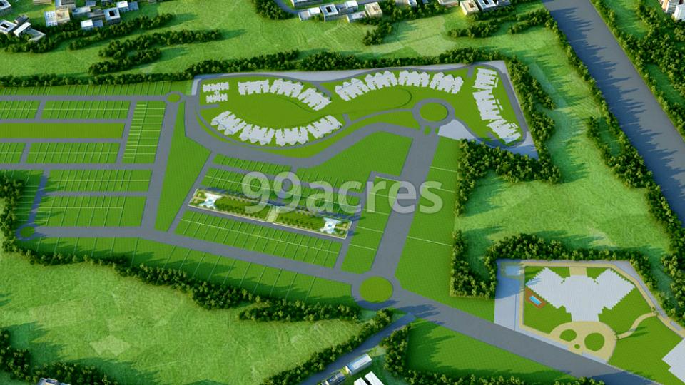 Galaxy Enclave The Urban Village Aerial View