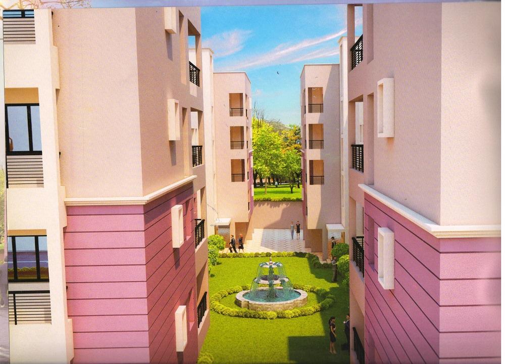 Gangaur Apartment Artistic Landscape Garden