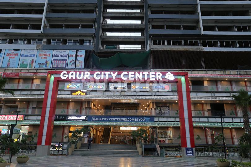 Gaur City Center Entrance