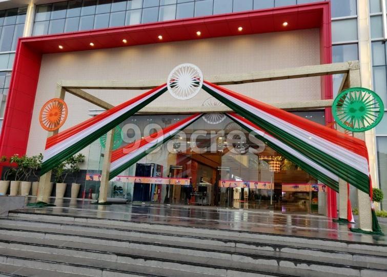 Gaur City Mall Entrance