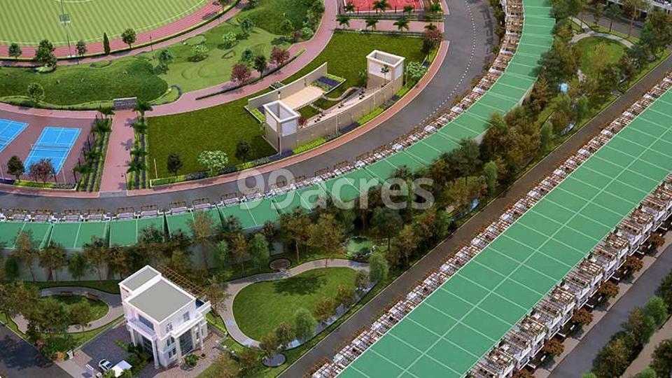 Gaur Yamuna City 7th ParkView Aerial View
