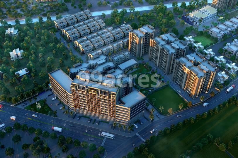 Gayatri Aamrapali Resicom Aerial View