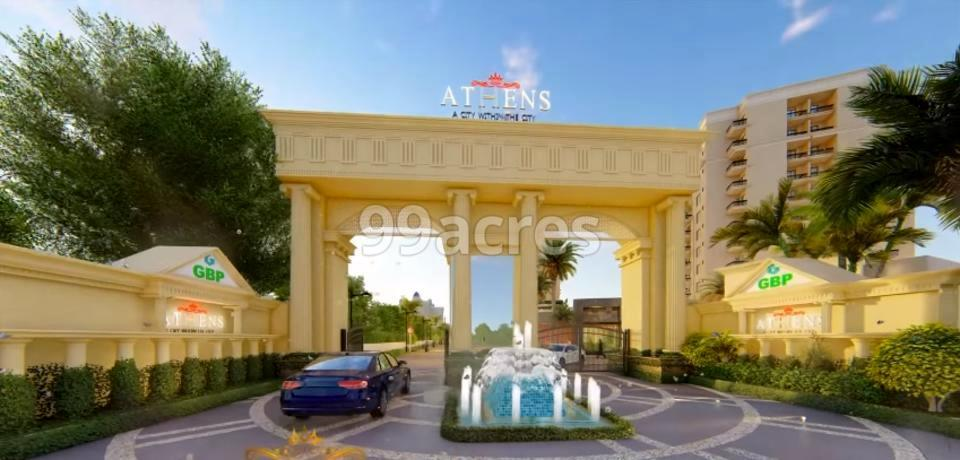 GBP Athens Entrance