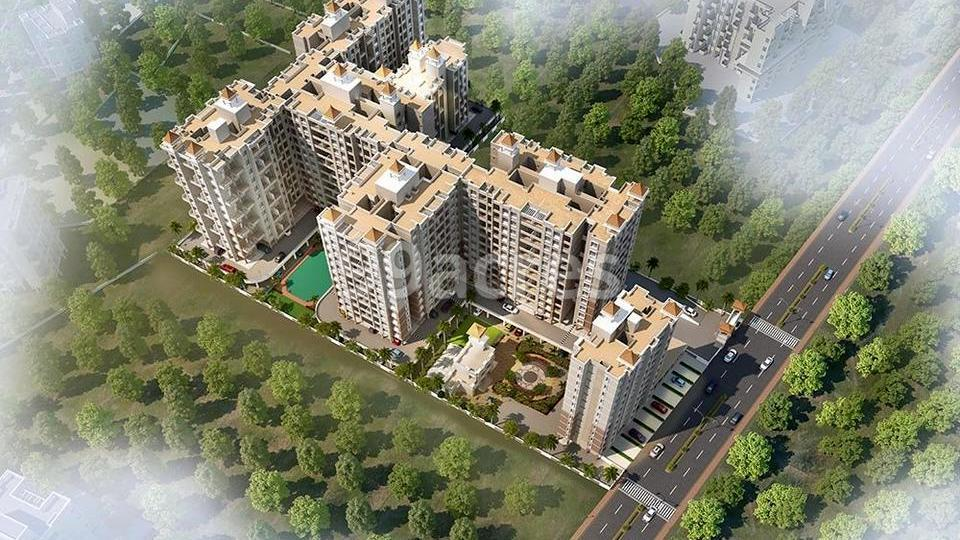 GK Silverland Residency Phase 1 Aerial View