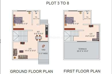 2 BHK Villa in Global Green Park River View