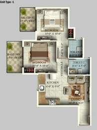 2 BHK Apartment in GLS Arawali Homes