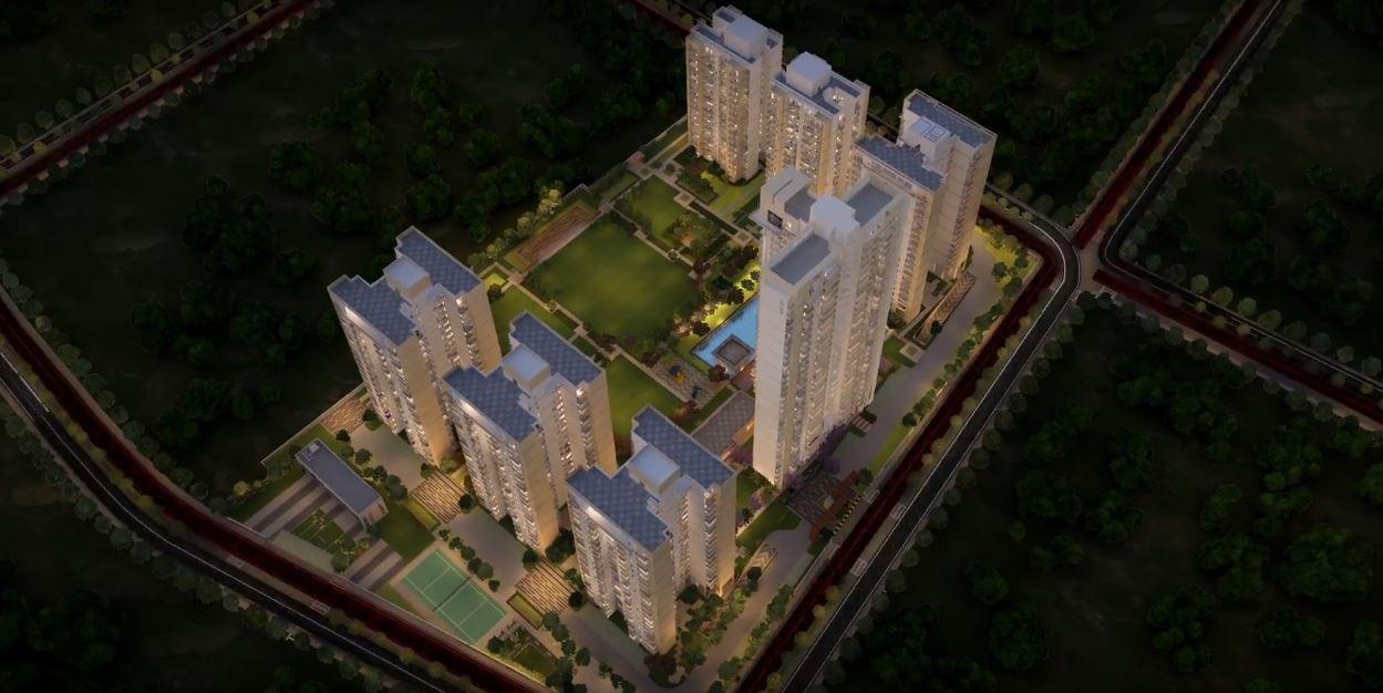 Godrej Nest Aerial View