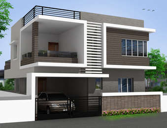 Good life builders good life kumar villa tvs nagar chennai for Exterior house designs in india low budget