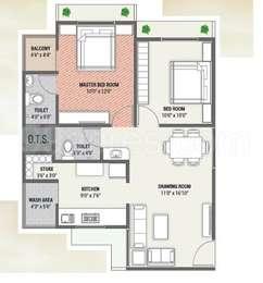 2 BHK Apartment in Gopinath Dutt Parisar