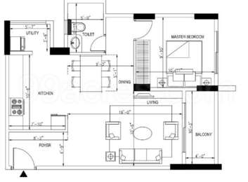 1 BHK Apartment in Orchid Whitefield