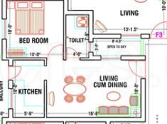 1 BHK Apartment in GP Cherry Blossom