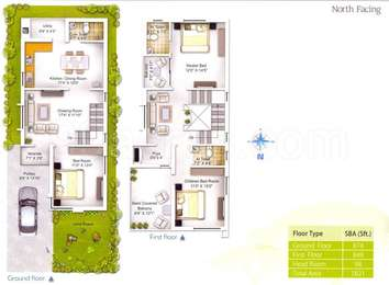 3 BHK Villa in Green Vatika
