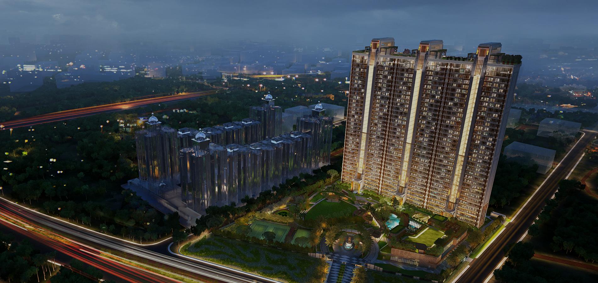 Gulshan Dynasty Aerial View