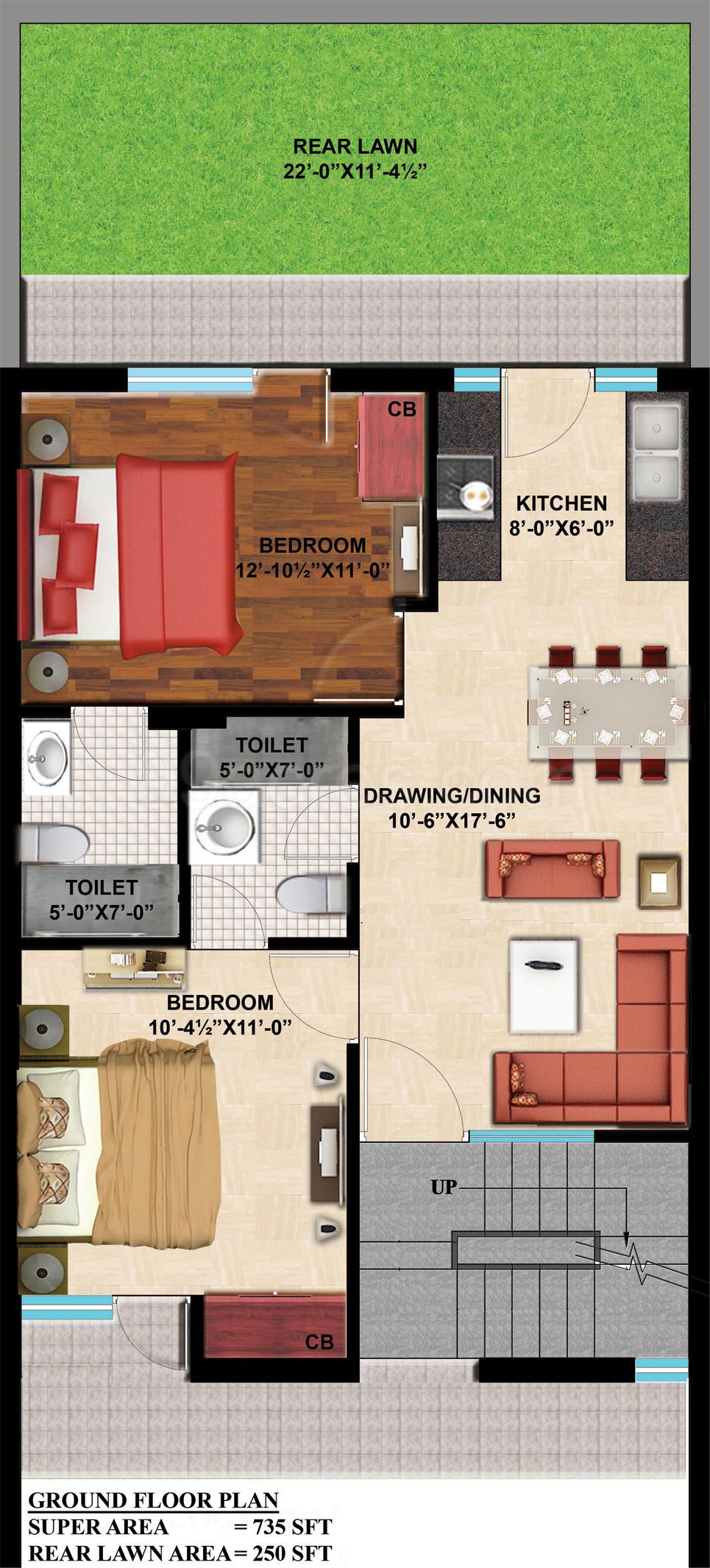 GBP Group GBP Rosewood Estate Floor Plan GBP Rosewood Estate