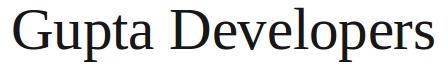 Gupta Developers
