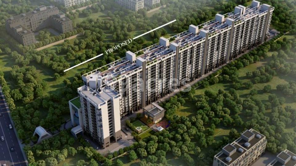 Sukhwani Hermosa Casa Aerial View