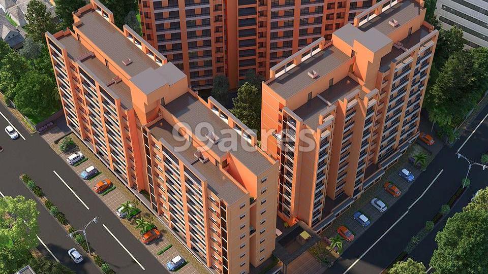 Hari Om Crystal Aerial View