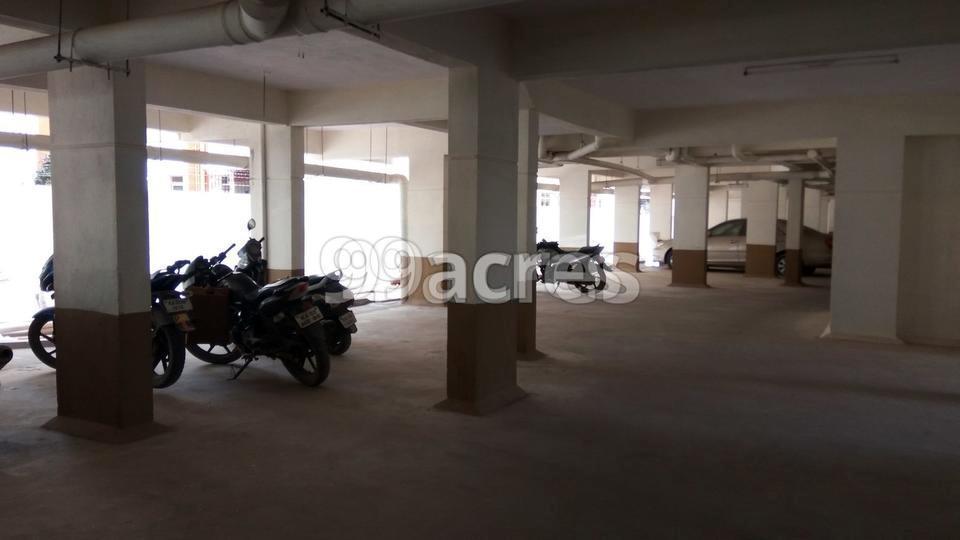 Harshal Ek Shanti Park Parking Area