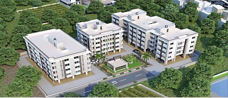 Aaditya Residency Aerial View