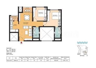 2 BHK Apartment in Hiland River