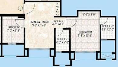 1 BHK Apartment in Hiranandani The Walk