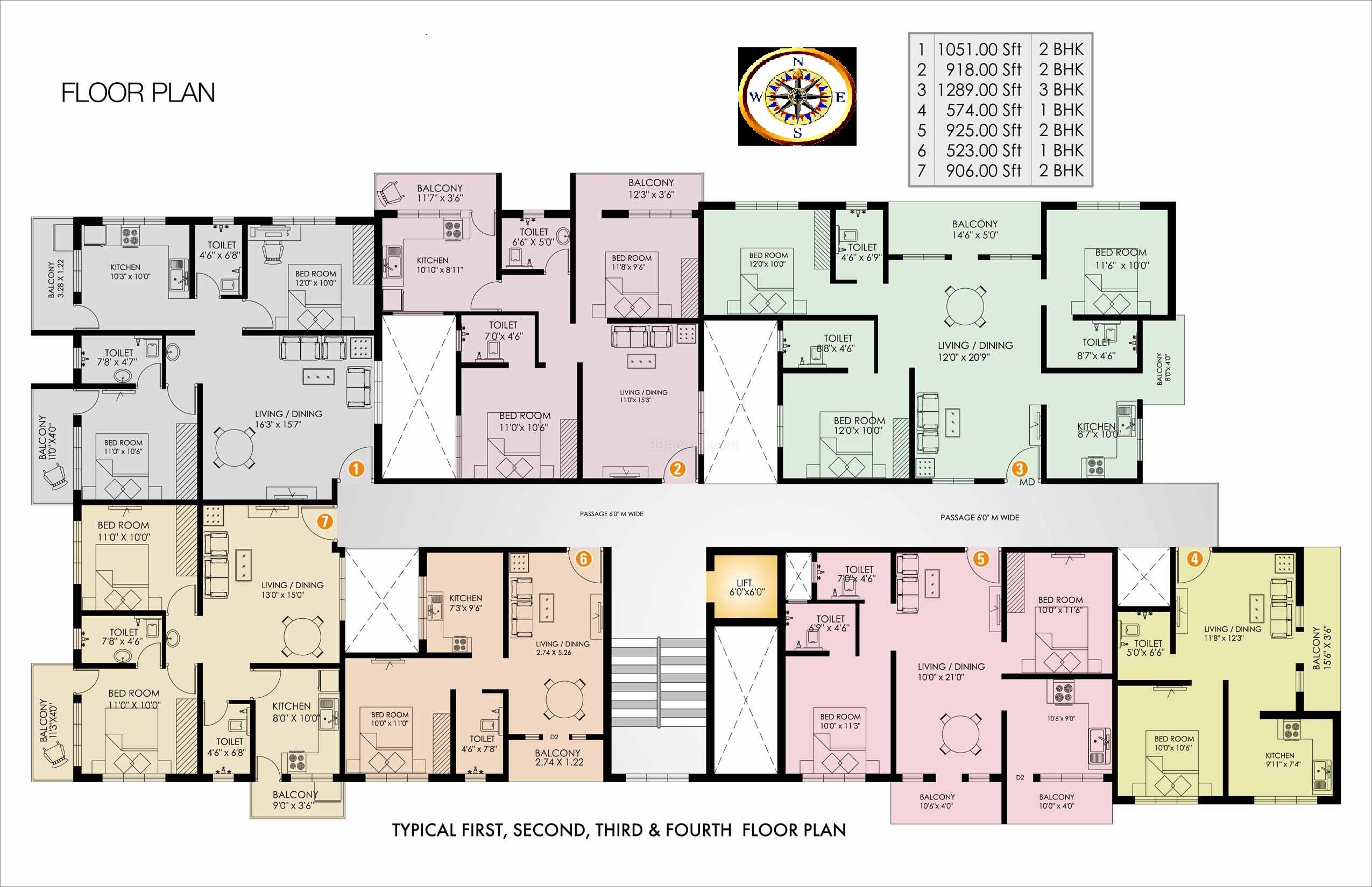Hma Gulmohar Apartments Master Plan