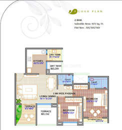 2 BHK Apartment in i Build Florista County
