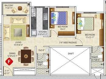 2 BHK Apartment in Ideal Greens