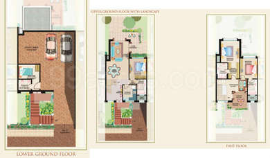3 BHK Villa in Ideal Villas