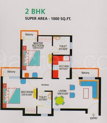 IITL Nimbus Group Express Park View 1 Floor Plan Express Park