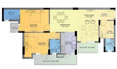 2 BHK Apartment in Imperia The Esfera