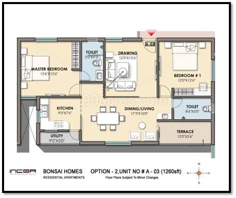 1440 sq ft house plan - house plans