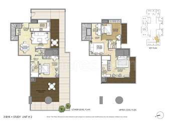 3 BHK Apartment in Indiabulls Sky Forest