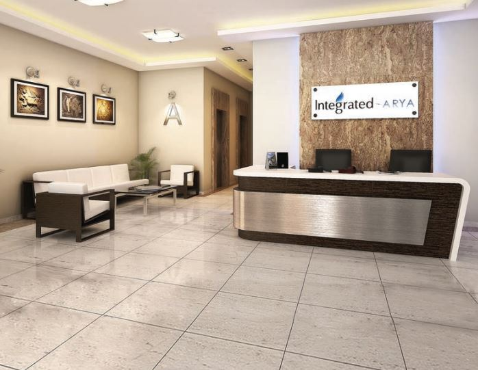 Integrated Arya Reception Area