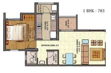 1 BHK Apartment in Lodha Palava City