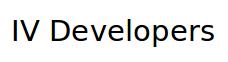 IV Developers