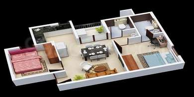 2 BHK Apartment in Janaadhar Shubha Phase 2
