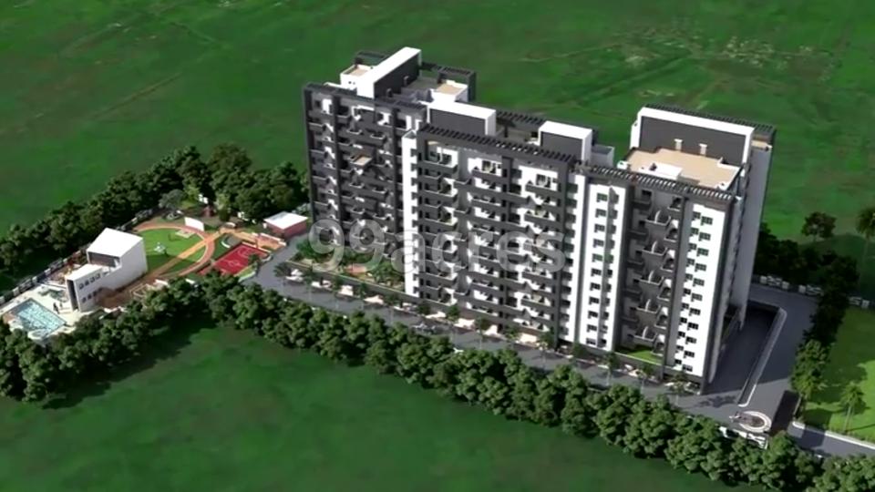 Shaurya Residence Artistic Aerial View