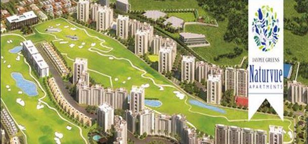 Jaypee Greens Naturvue Apartments Aerial View