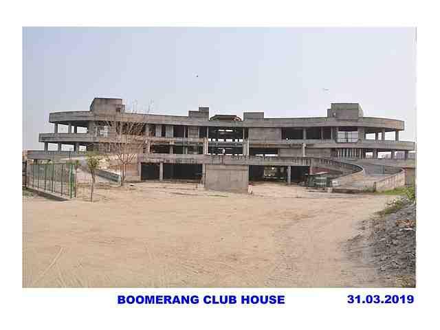Jaypee Greens Boomerang Residences construction status 31/03/2019