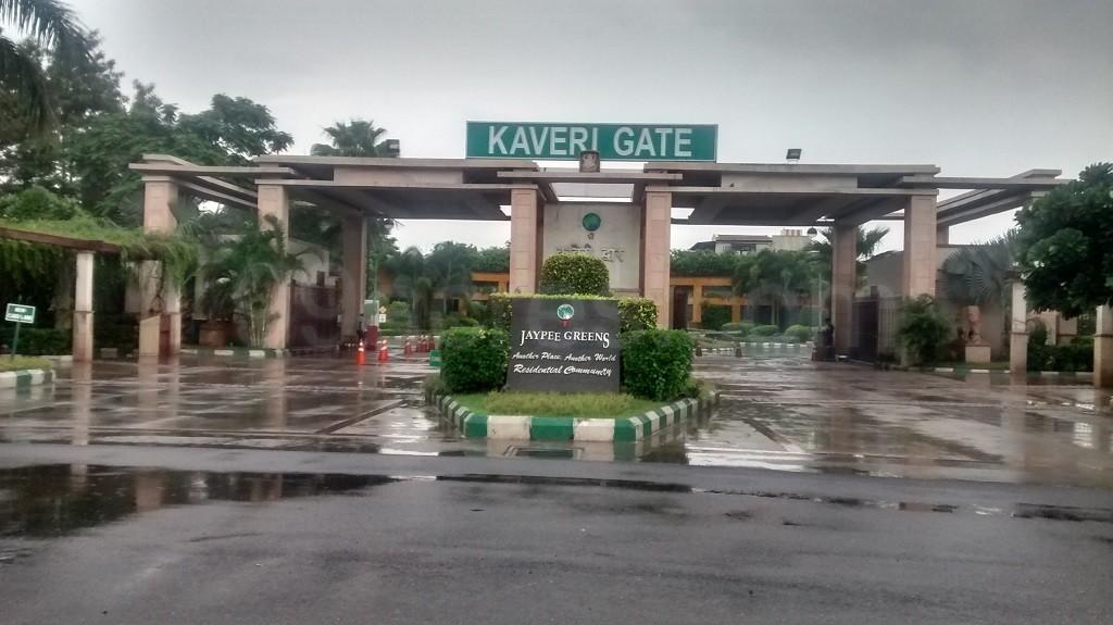 Jaypee Greens Earth Court Entrance