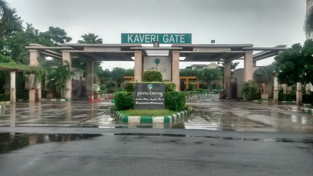 Jaypee Greens Ashok Residences Entrance