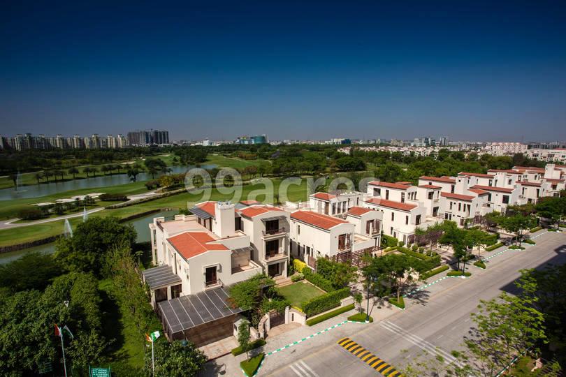 Jaypee Greens Villas Aerial View