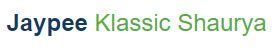 LOGO - Jaypee Klassic Shaurya