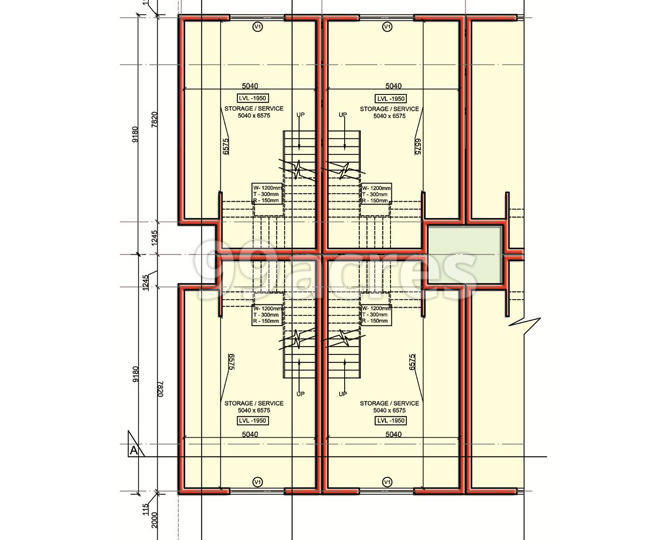 Jaypee Tanishq Square Typical Plan