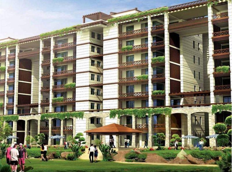 Jaypee Greens Pebble Court Elevation