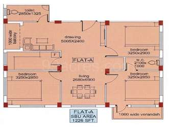3 BHK Apartment in Jeet Lake View