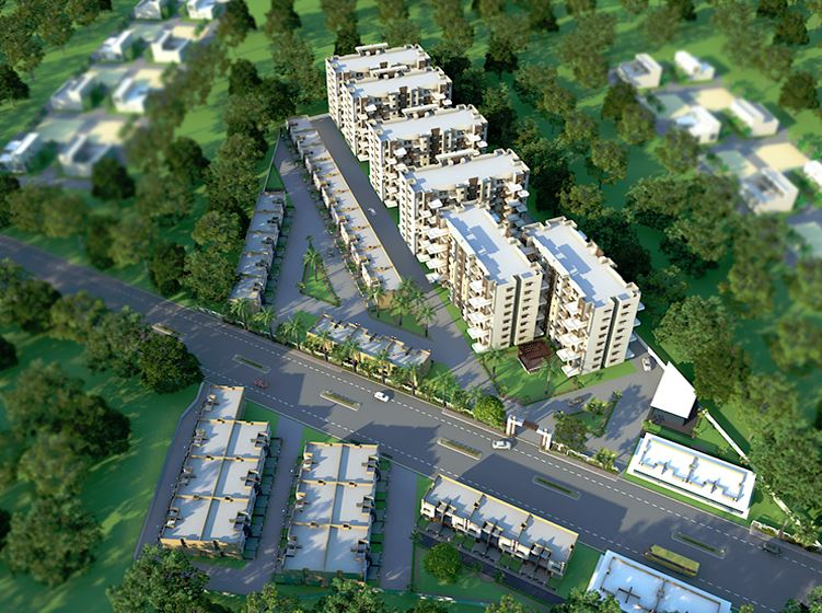 Jeet Homes Artistic Aerial View