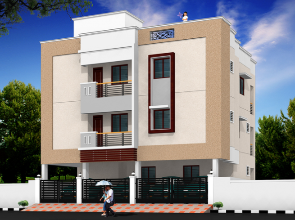 Jei Srisha Enclave Elevation