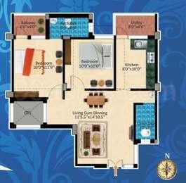 2 BHK Apartment in Jeno Luckshmi